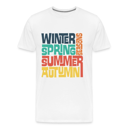Four Seasons - Men's Premium T-Shirt