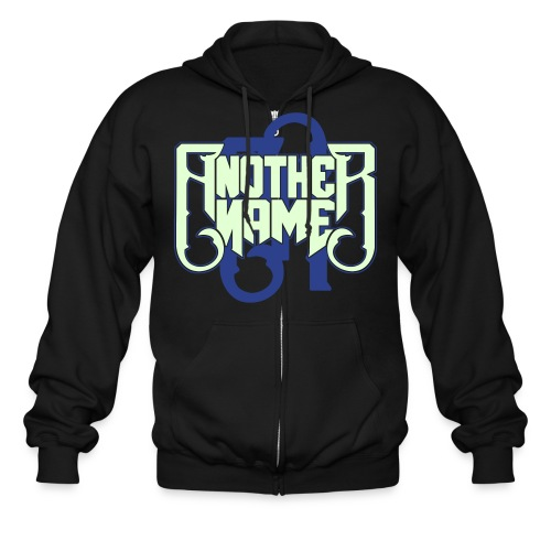 Zip Up Hoodie (Glow In The Dark) - Men's Zip Hoodie