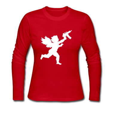 Cupid With Automatic Long Sleeve Shirts