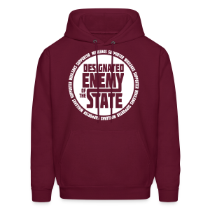Enemy of the State - Men's Hoodie
