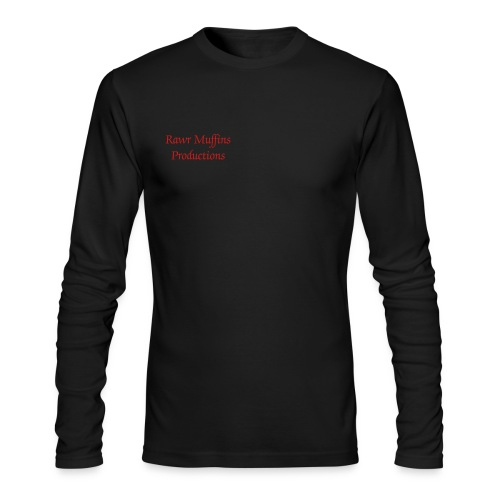 Rawr Muffins Productions Shirt  - Men's Long Sleeve T-Shirt by Next Level