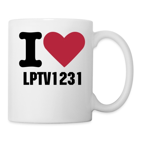 I Love Lptv1231 Mug - Coffee/Tea Mug