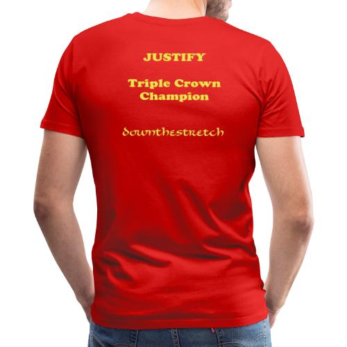 JUSTIFY - He's just perfect and now he's just immortal (men's) - Men's Premium T-Shirt