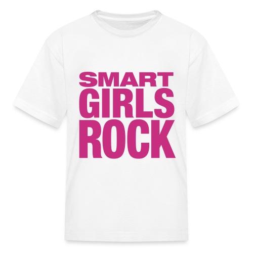 Smart Girls Rock-Kids - Kids' T-Shirt