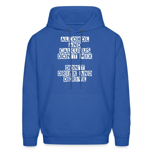 Alcohol and Calculus - Men's Hoodie