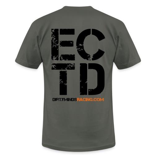 Dirty Minds Racing Shirt with ECTD logo - Men's Fine Jersey T-Shirt