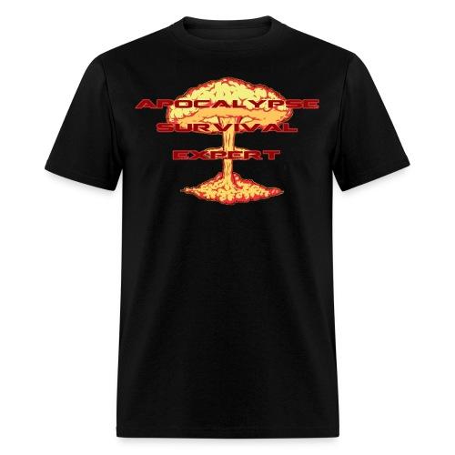 Apocalypse Survival Expert - Men's T-Shirt
