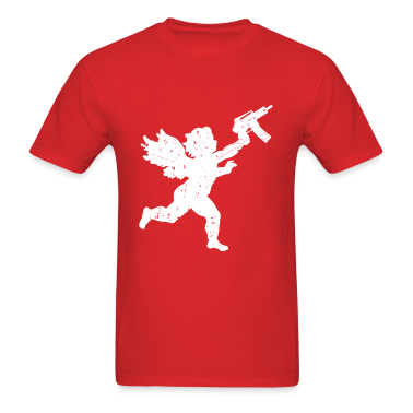 Cupid With Automatic T-Shirts