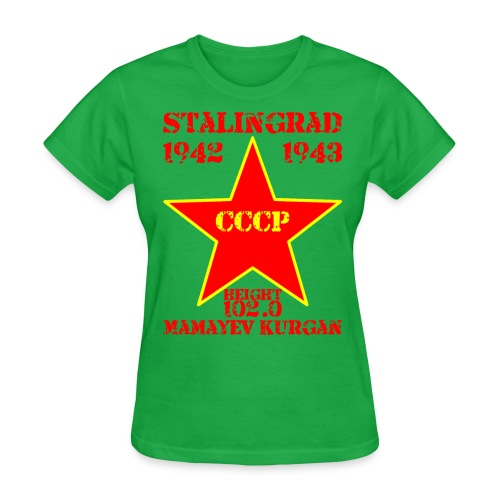 Mamayev Kurgan - Women's T-Shirt