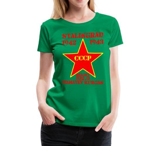 Mamayev Kurgan - Women's Premium T-Shirt