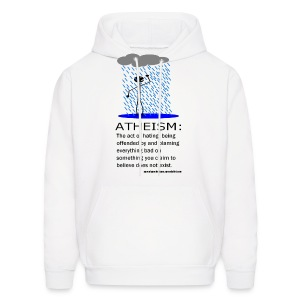 Atheism Defined - Men's Hoodie