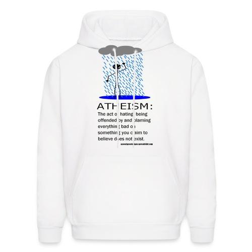 Atheism Defined - Men's Hoodie