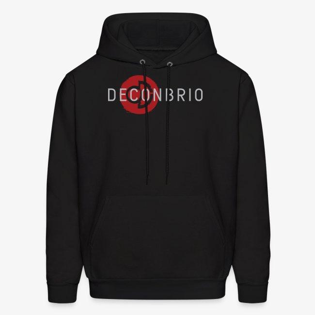 Deconbrio Glitched Logo Hoodie