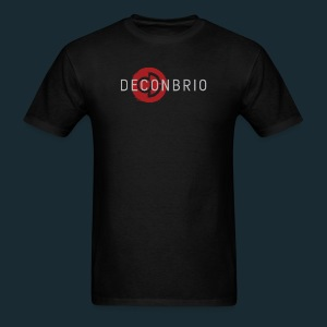 Deconbrio Glitched Logo Shirt - Men's T-Shirt