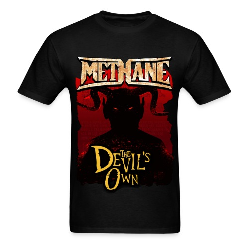Methane 1 sided  Signed In Blood - Men's T-Shirt