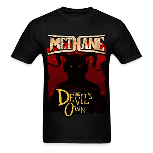 Methane 2 sided Signed In Blood Tour Shirt - Men's T-Shirt