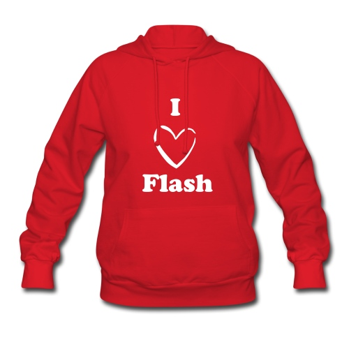 I Love Flash - Women's Hoodie