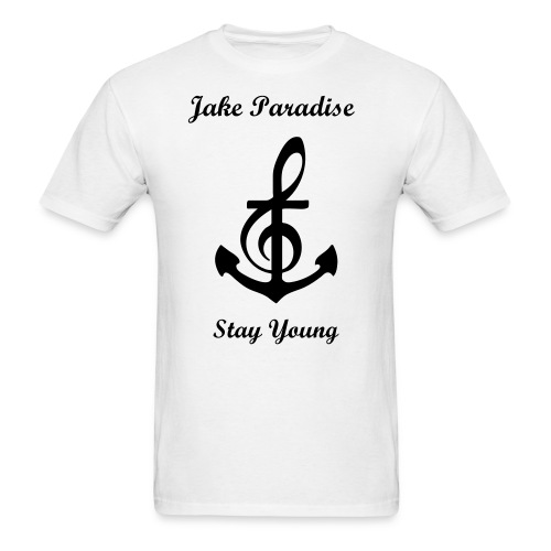 Jake Paradise - Musical Anchor - Men's T-Shirt