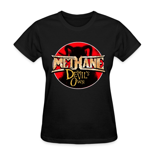 Methane 2 Sided Signed IN Blood Tour Shirt - Women's T-Shirt