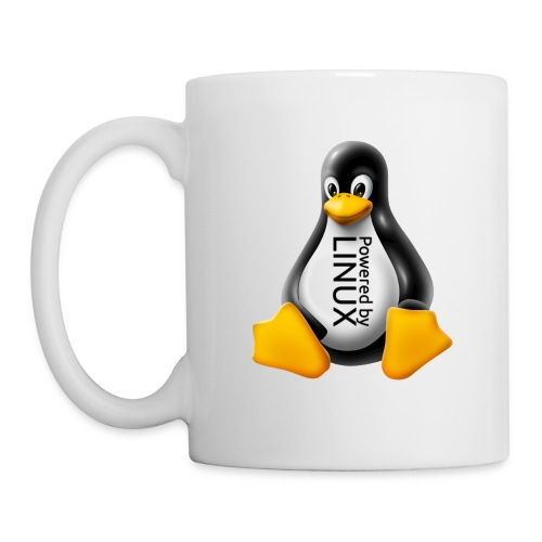 Powered by Linux - Coffee/Tea Mug