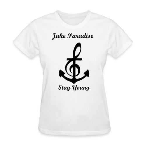 Jake Paradise - Musical Anchor - Women's T-Shirt