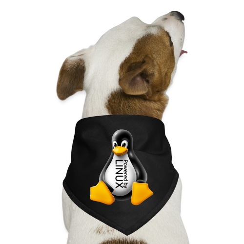 Powered by Linux - Dog Bandana