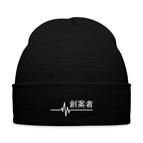 CREATOR BEANIE [WE : THE LABEL] - Knit Cap with Cuff Print