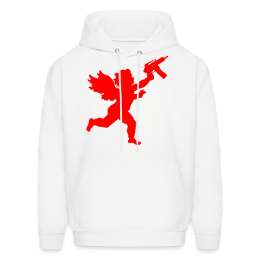 Cupid With Automatic Hoodies