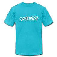 T-Shirts ~ Men's T-Shirt by American Apparel ~ I'm not a quitter