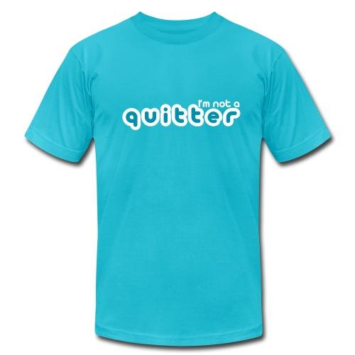 I'm not a quitter - Men's  Jersey T-Shirt