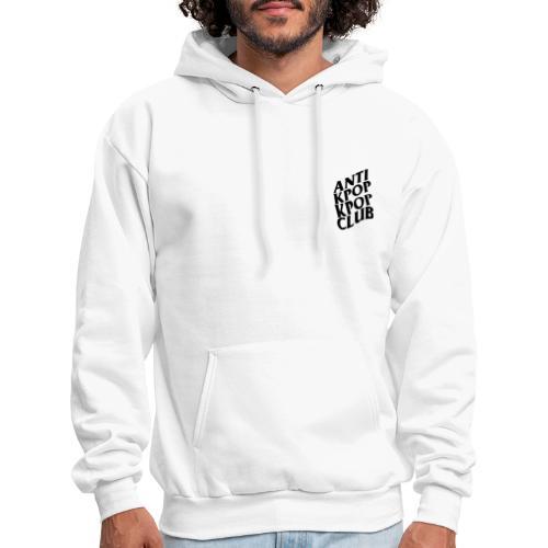 WHITE ANTI KPOP KPOP CLUB HOODIE  [WE : THE LABEL] - Men's Hoodie