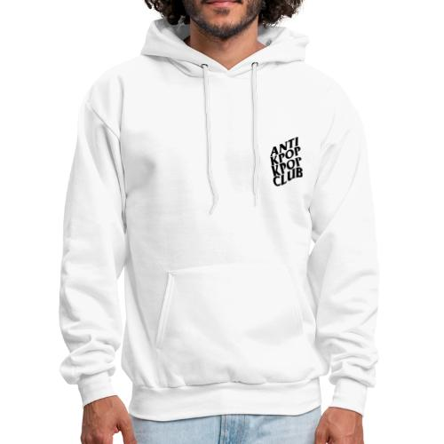 WHITE ANTI KPOP KPOP CLUB HOODIE  [WE : THE LABEL] - Men's Hoodie