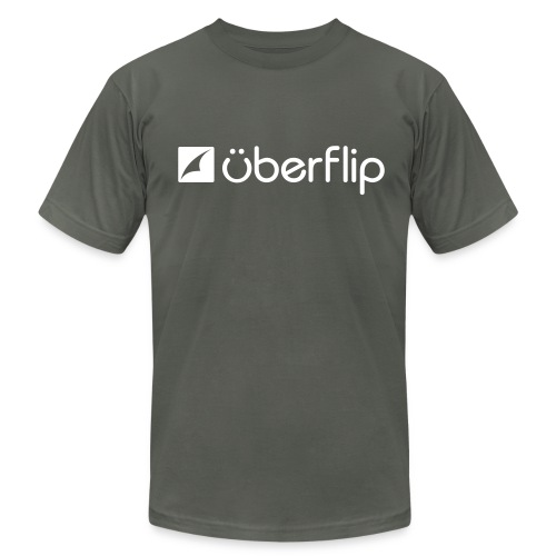 Uberflip Standard Men's - Men's Fine Jersey T-Shirt