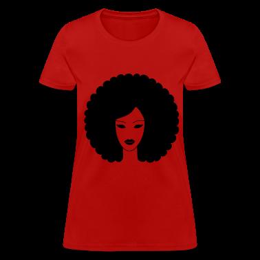 Afro Sistah! Women's T-Shirts
