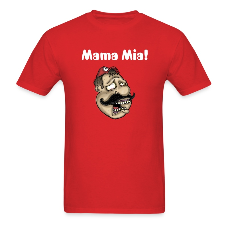 Sad Sad Mario - Men's T-Shirt