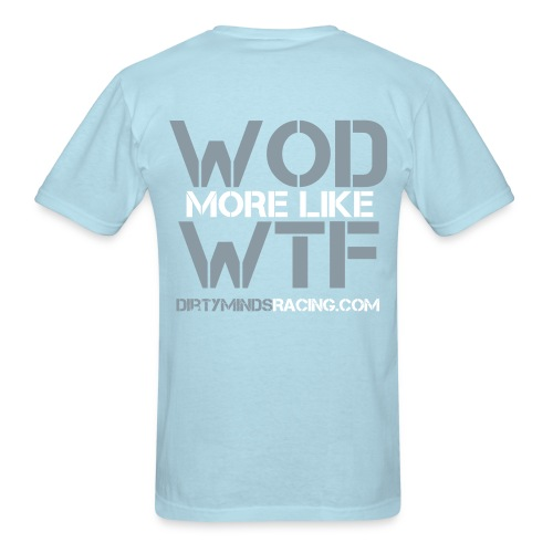 WOD / WTF Blue - Men's T-Shirt