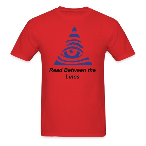 Between the Lines - Men's T-Shirt