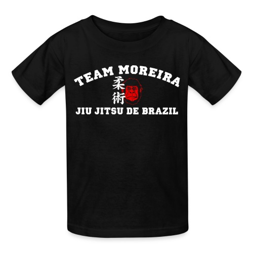 TM KIDS Athletic Gorilla Kanji FRONT ONLY style - black shirt - Kids' T-Shirt