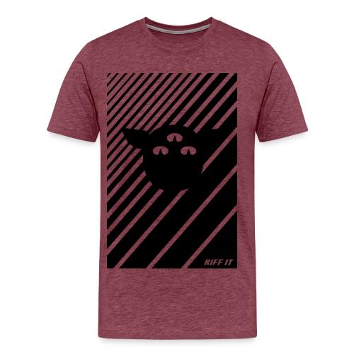 RIFF IT LINES - Men's Premium T-Shirt