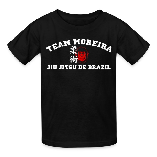 TM KIDS Athletic Gorilla Kanji style - black shirt - Kids' T-Shirt