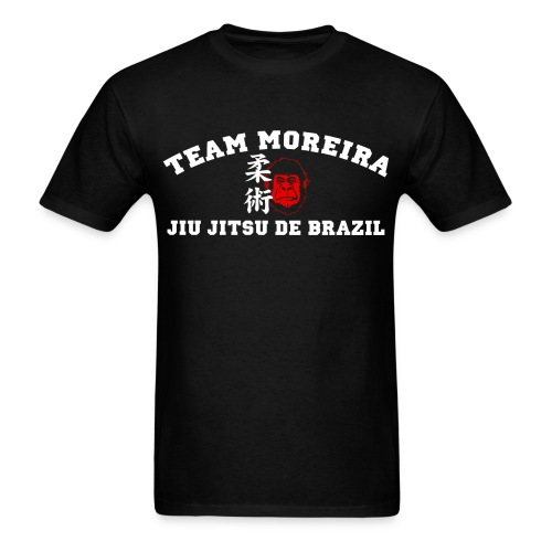 TM Athletic Gorilla Kanji FRONT ONLY style - black shirt - Men's T-Shirt