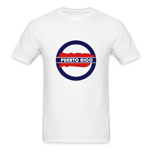Puerto Rico Tube - Men's T-Shirt