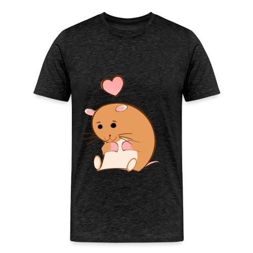 HAPPY HAMSTER - Men's Premium T-Shirt