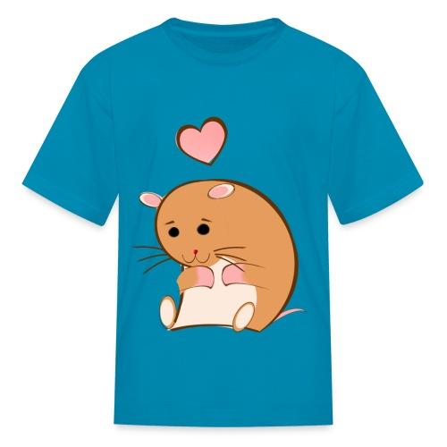 HAPPY HAMSTER - Kids' T-Shirt