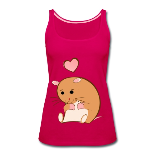 HAPPY HAMSTER - Women's Premium Tank Top