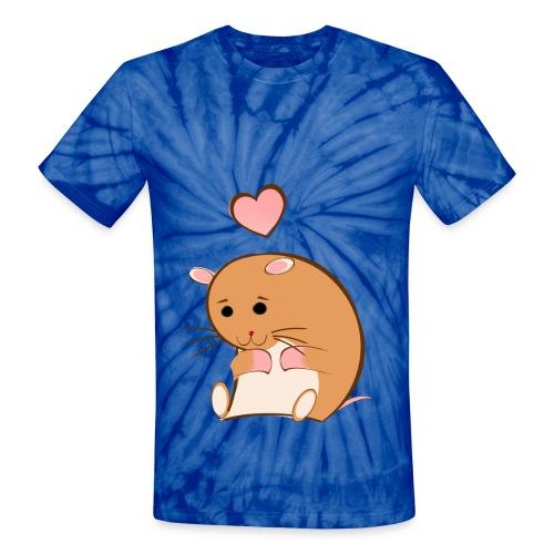 HAPPY HAMSTER - Unisex Tie Dye T-Shirt