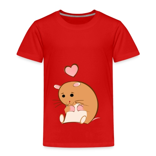 HAPPY HAMSTER - Toddler Premium T-Shirt