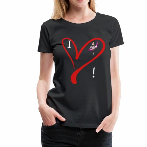 I Love Fina :) Women's HQ Shirt - Women's Premium T-Shirt