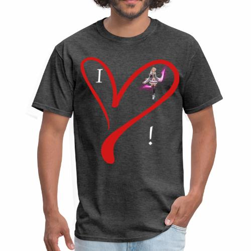 I Love Fina :) Men's Shirt - Men's T-Shirt