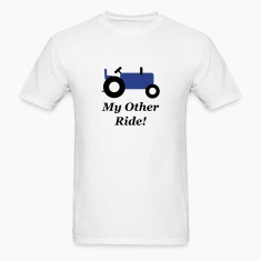 Blue Tractor Other Ride T-Shirts